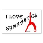 Gymnastics Stickers (50) - Love