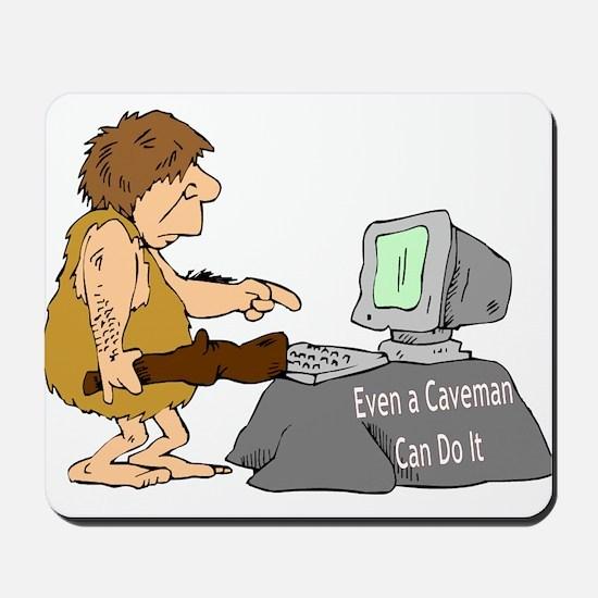 Caveman Mousepad