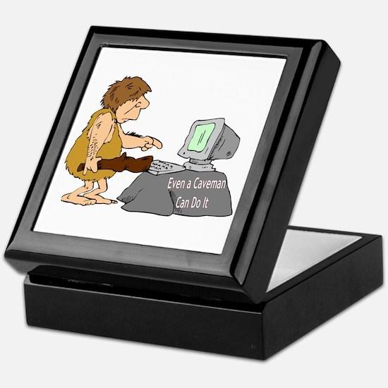 Caveman Keepsake Box