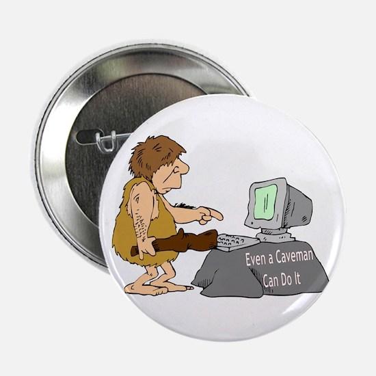 """Caveman 2.25"""" Button"""