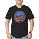 Vancouver Gastown Souv Men's Fitted T-Shirt (dark)