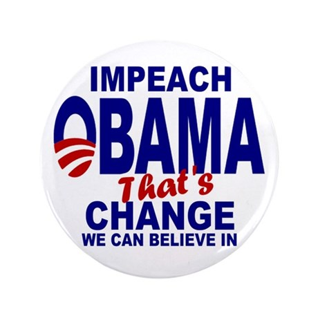 "Impeach Obama 3.5"" Button (100 pack)"