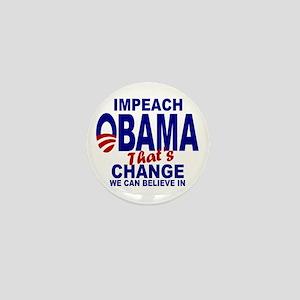 Impeach Obama Mini Button