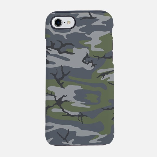 Weathered Outcrop Camo iPhone 7 Tough Case