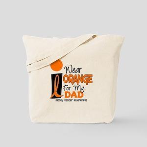 I Wear Orange For My Dad 9 KC Tote Bag