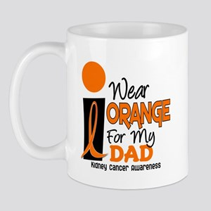 I Wear Orange For My Dad 9 KC Mug