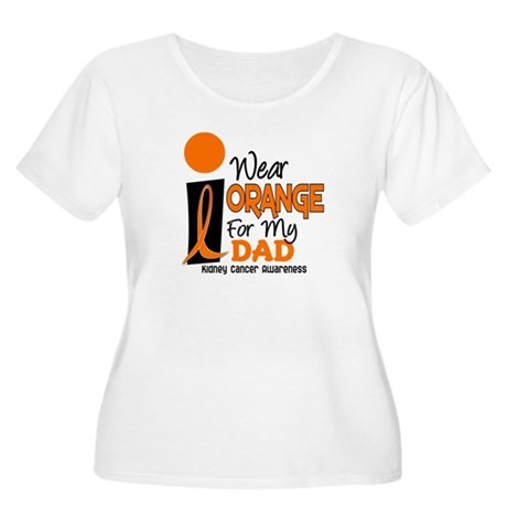 I Wear Orange For My Dad 9 KC Women's Plus Size Sc