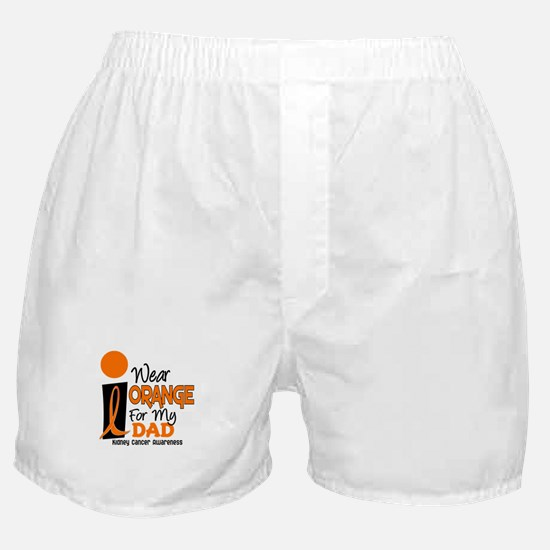 I Wear Orange For My Dad 9 KC Boxer Shorts