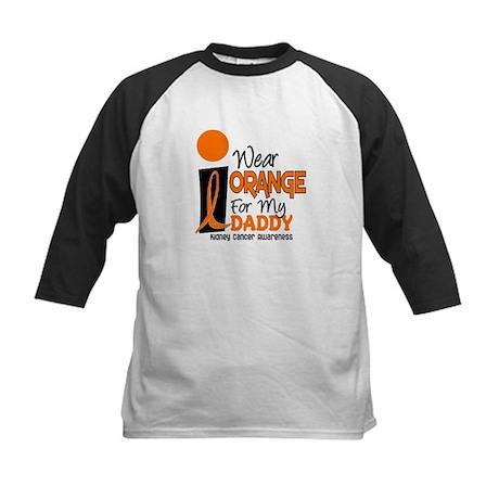I Wear Orange For My Daddy 9 KC Kids Baseball Jers