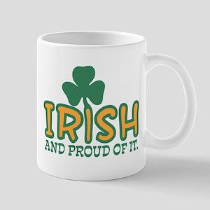 Irish And Proud Of It Mug