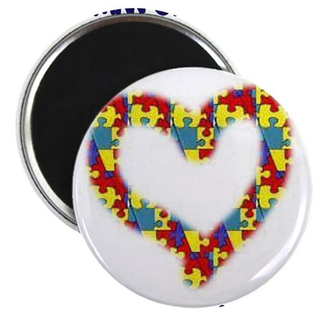 "Someone With Autism Loves Me! 2.25"" Magnet (10 pac"