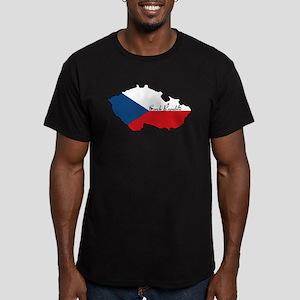 Cool Czech Republic Men's Fitted T-Shirt (dark)