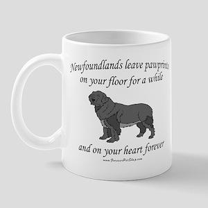 Newfoundland Pawprints Mug