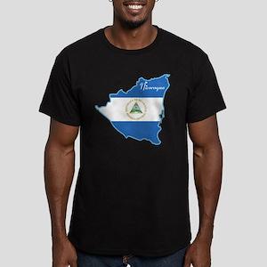 Cool Nicaragua Men's Fitted T-Shirt (dark)