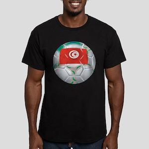 Tunisia Football Men's Fitted T-Shirt (dark)