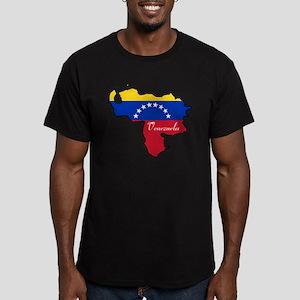 Cool Venezuela Men's Fitted T-Shirt (dark)