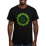 Irish Flu Men's Fitted T-Shirt (dark)