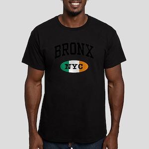 Bronx Irish Men's Fitted T-Shirt (dark)