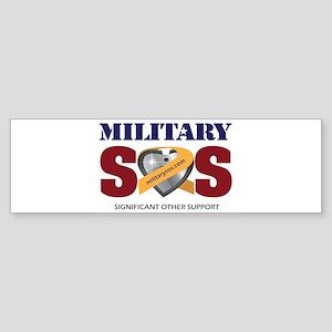 MilitarySOS Bumper Sticker