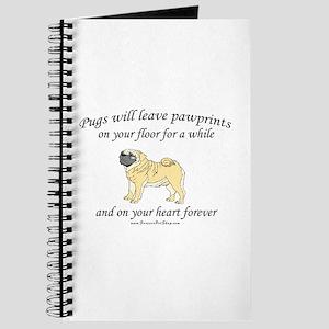 Pug Pawprints Journal
