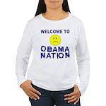 ObamaNation Women's Long Sleeve T-Shirt