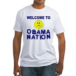 ObamaNation Fitted T-Shirt