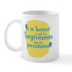 Fun Coffee Mug: It is better to ask