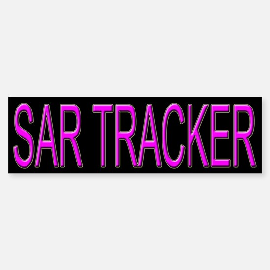 Search and Rescue SAR Tracker Bumper Bumper Bumper Sticker