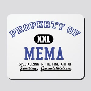 Property of Mema Mousepad