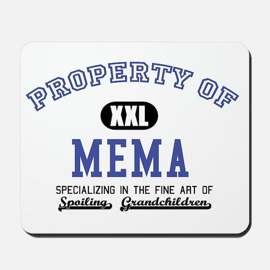 Property of Mema Mousepad