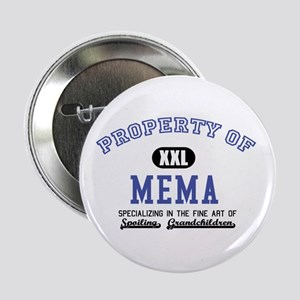 "Property of Mema 2.25"" Button"