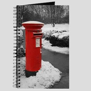 Journal/Notebook/Diary - British Post Box
