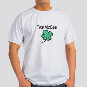 Tits McGee Light T-Shirt
