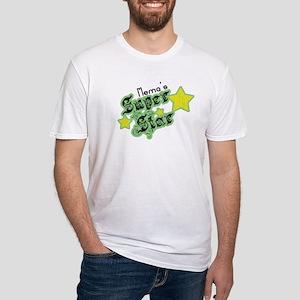 Mema's Super Star Fitted T-Shirt