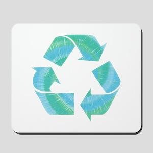 Tie Dye Recycle Mousepad