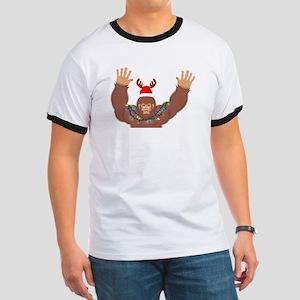 I'm LIT Funny Bigfoot Christmas Birthd T-Shirt