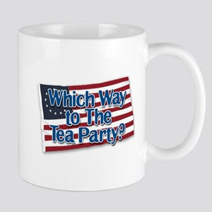 Which Way to The Tea Party? v2 Mug