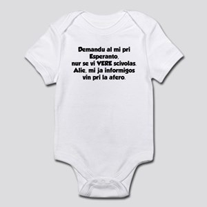 Ask Only if... Infant Bodysuit
