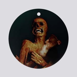Hungry Hungry Zombie Ornament (Round)