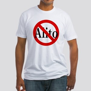 Anti-Alito Fitted T-Shirt