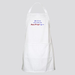 Stage Manager Says So BBQ Apron