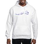 Star Outline Hooded Sweatshirt