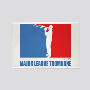 ML Trombone Rectangle Magnet (10 pack)