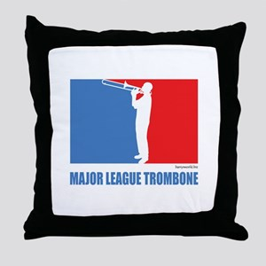 ML Trombone Throw Pillow
