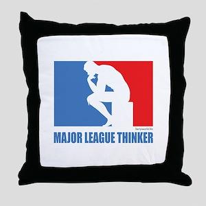 ML Thinker Throw Pillow