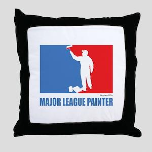 ML Painter Throw Pillow