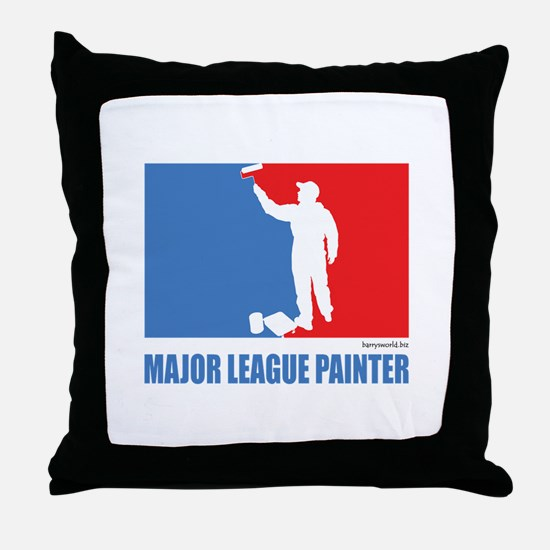 ML Painter Throw Pillow