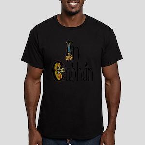 Cavan (Kells) Men's Fitted T-Shirt (dark)