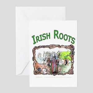 Irish Roots Greeting Card