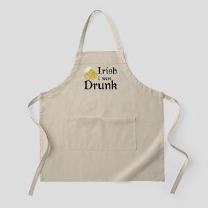 drunk 2 BBQ Apron